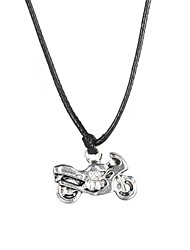 Fashion Stainless Steel Motorcycle Pendant Necklace  Christmas Gifts