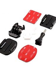 Board Mount Surf Snowboard Riding Skydiving Helmet Set For Gopro Hero 2/3/3+ and SJ4000