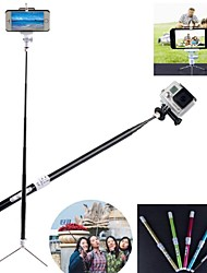 G-499B Carbon Fiber Bluetooth Intelligent Retractable Monopod for GoPro 2/3/3+ Camera / Iphone / Cellphone