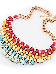 Meet You Austrian Colorful Necklace