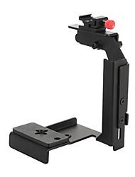 Universale Flash staffa metallica di montaggio per Camera-nero