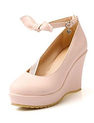 Women's Wedge Heel  Round Toe Pumps Shoes (More Colors)