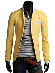 HF Men's Cotton Single Button Coat