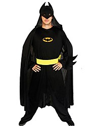 Batman Nightmare Black Polyester Men's Movie Cosplay Costume(for Height 168-180cm)
