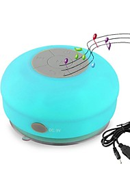 Portable Mini Waterproof Bluetooth Speaker with Suction Cup(Assorted Colors)
