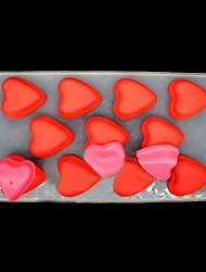"11 Grid Love Ice Mould Plastic Ice Cubes (Random Color) , Plastic 8.8""X4.4""X0.76"""