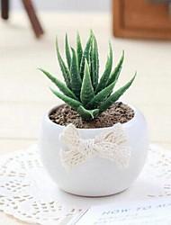 la qualité artificielle cactus pot de plastique