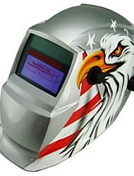 bandeira dos EUA da bateria li solar, escurecimento automático tig mig mag mma kr kc máscara de solda elétrica / capacetes / cap soldador para