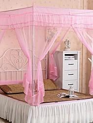 Tipo utilidad cama anti-mosquitos tipo cremallera cúpula redes de cortina (78.75''l * 70.875''w)
