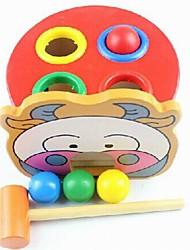 Hit Wooden Ball Table des jouets éducatifs pour enfants