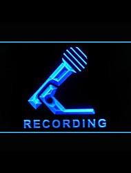 Produção Microfone Publicidade LED Sign