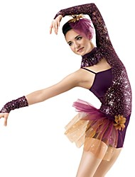 Jazz Performance Women's Sequin And Tulle Ballet/Jazz Outfit