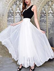Women's Dresses , Chiffon Casual zimei