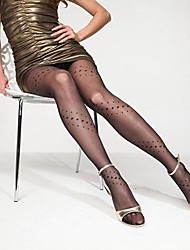 Ultra-thin Wire Core-spun Yarn Elasticity Three Points Tights Soft Sexy Nylon Pantyhose  Hosiery