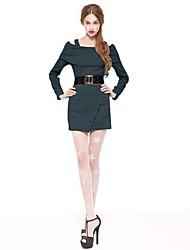 sexy moda vestido feito malha camisola coreana feminina joannekitten