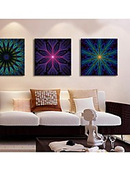 Personalized Canvas Print Abstract Pattern  45x45cm  55x55cm Gallery Wrapped Art  Set of 3