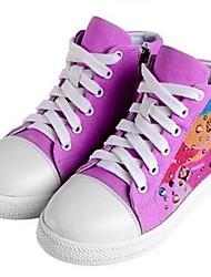 Sneakers Tendance ( Pourpre/Blanc/Bourgogne ) - Toile - Confort