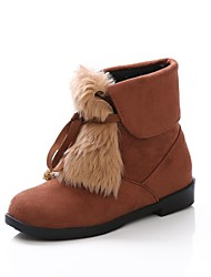 Women's Shoes Fashion Low Heel Suede Ankle Boots More Colors available