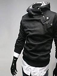 lã de algodão puro moda casaco com capuz para homens Heide