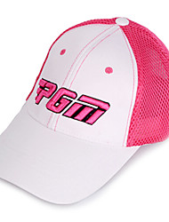 PGM Mesh Pink+White Sunproof Breathable Golf Hat