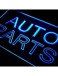 j006 Auto Parts Car Neon Light Sign