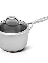 BODEUX® Solid Material Hardness Royal 18cm Milk Pot 304 Stainless Steel 32.7cm*19cm*12.1cm