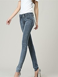 Women's High Waist Denim Skinny Jeans