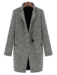 LIRONG Blazer Wool Coat