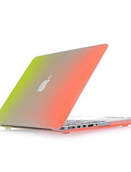 "coosbo® bunten Regenbogen matt hard cover Fall Hülle für 13 ""MacBook Pro 15"""