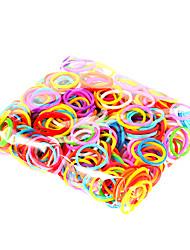 4000g colorido do arco-íris cor diy tear faixa de borracha pulseiras tecido elástico (28 c-mergulhos, um tear, um gancho