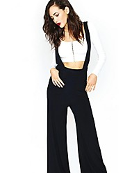 Women's Boot Cut/Flare Loose Leisure Wide Leg Jumpsuits