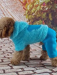 Winter Cotton Hoodies for Dogs Red / Blue / Yellow XS / S / M / L / XL / XXL