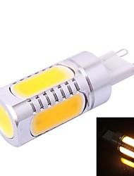 g9-6d 7.5W 350lm 3500K varmvit LED-lampa (dc 12v)