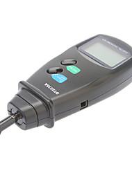 contacts numérique tachymètre 50mm-500mm vitesse métrique / linéaire professionnelle (0,5 ~ 19,999rpm, 0.1rpm)