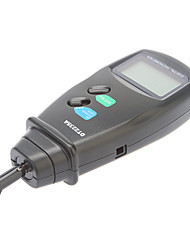 Professional Digital Contact Tachometer 50mm-500mm Metric/linear Speed (0.5~19,999RPM, 0.1RPM)