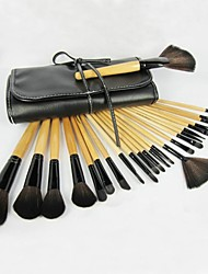 24 pcs High Quality Professional Makeup Brushes Set with Free Bag
