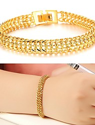 cadeau de jour de placage ms valentine création de 18 k bracelet d'or