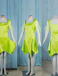 Costumes de Cosplay / Costume de Soirée Cosplay Fête / Célébration Déguisement Halloween Vert Mosaïque Robe Halloween Féminin / Masculin