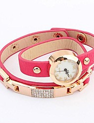 Women's  Retro Trend Exquisite Leather Bracelet Watch(Assorted Colors)