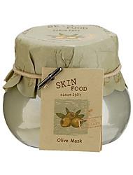 alimentos pele máscara de oliva 100g