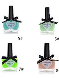 1pcs bonbons de couleur de vernis à ongles dentelle papillon bouteille no.5-8 (de couleurs assorties)