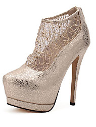 Nicy Women's Lace Stiletto High Heeled Shoes