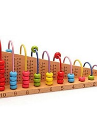 quebra-cabeça ábaco estudante de madeira para crianças brinquedos educativos