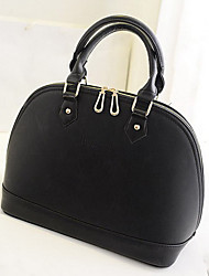 DLH Women'S Single Shoulder Bag Portable Shell Shape(Black)