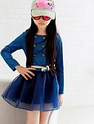Girl's Fashion Demin Dress