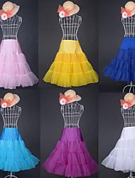 Candy Color Organza/Lycra/Spandex Colorful Petticoat(More Colors)