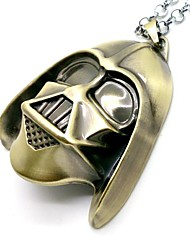 Star Wars Sith Helmet Cosplay Necklace
