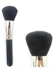 poils de chèvre de haute qualité gros pinceau à poudre brosse minérale cosmétique