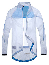 SANTIC Bike/Cycling Jacket / Sun Protection Clothing / Tops Men's Long SleeveWaterproof / Breathable / Quick Dry / Wearable / Windproof /