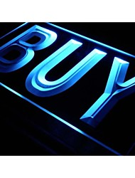 i640 BUY Shop Advertising Lure Display NEW Light Sign